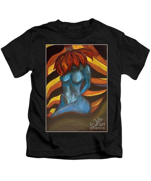 Feeling The Blues... Kids T-Shirt