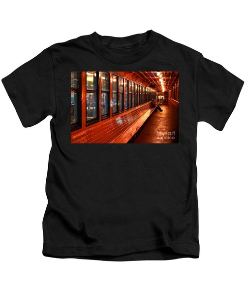 Ferry Boat Riders Kids T-Shirt