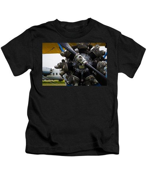 Boeing-stearman Model 75 Kaydet Kids T-Shirt