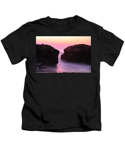 Fine Art Water And Rocks Kids T-Shirt