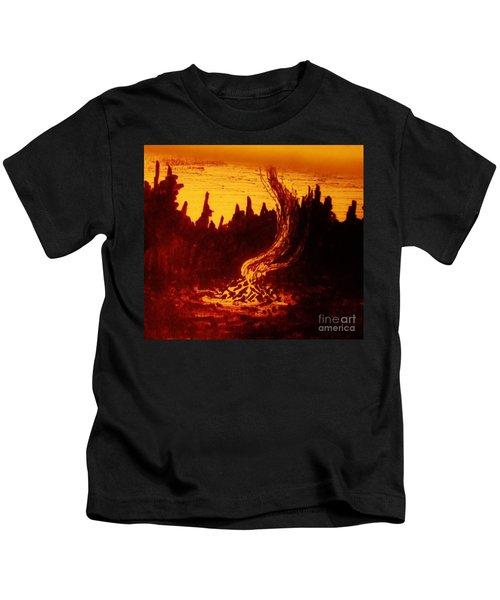 Fire And Smoke Kids T-Shirt