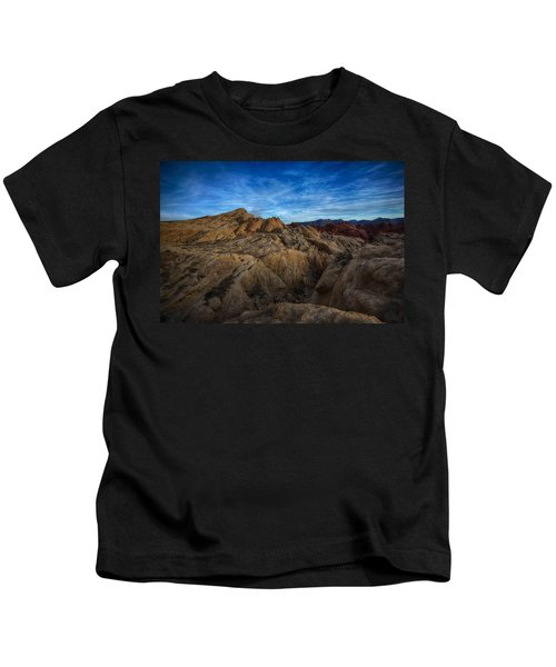 Fire Canyon Twilight Kids T-Shirt