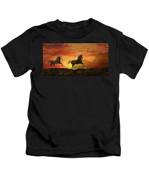 Fire Sky Kids T-Shirt