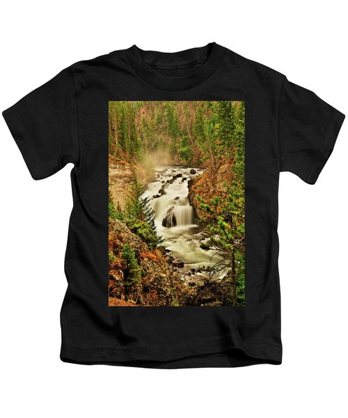 Firehole Falls Kids T-Shirt