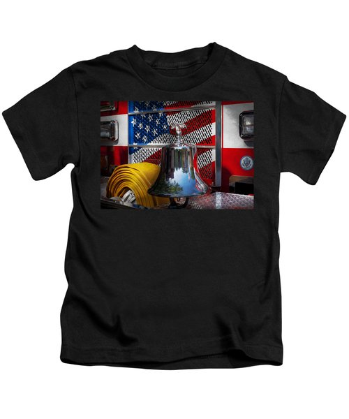 Fireman - Red Hot  Kids T-Shirt