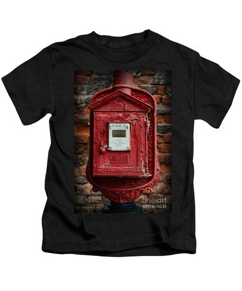 Fireman - The Fire Alarm Box Kids T-Shirt