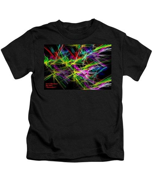 Fireworks 1 Kids T-Shirt