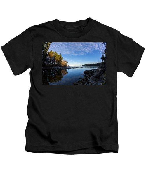 Fish Eye View Kids T-Shirt