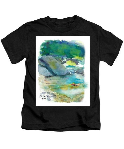 Fishin' Hole Kids T-Shirt