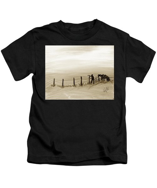 Fix On The Prairie Kids T-Shirt
