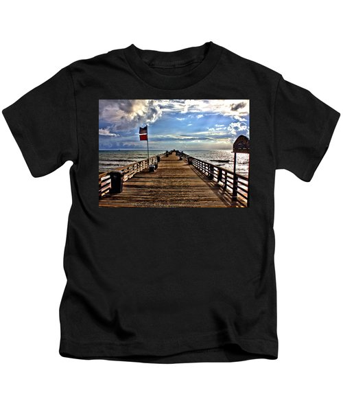 Flagler Pier Kids T-Shirt
