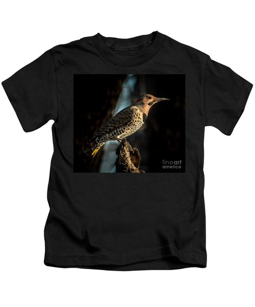 Flicker In Light Kids T-Shirt
