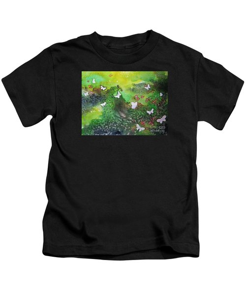 Flight Of White Kids T-Shirt