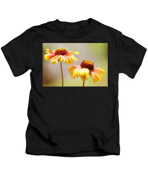 Floral Sunshine Kids T-Shirt
