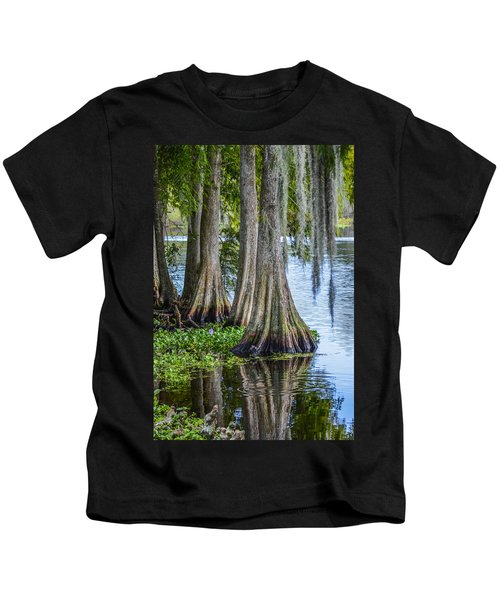 Florida Cypress Trees Kids T-Shirt