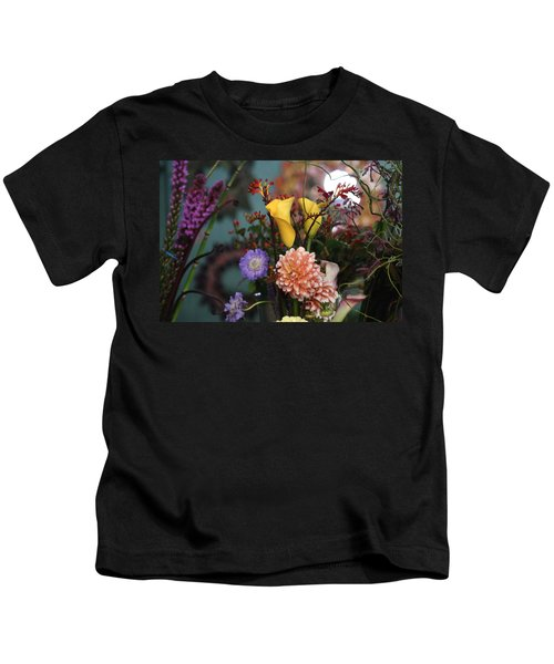 Flowers From My Window Kids T-Shirt
