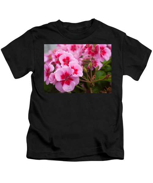 Flowers On A Rainy Sunday Afternoon Kids T-Shirt