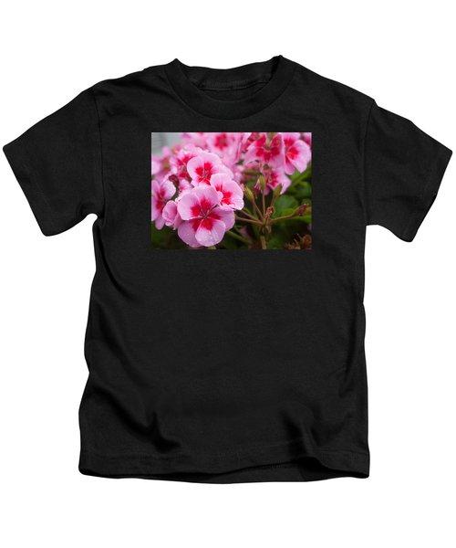 Flowers On A Rainy Sunday Afternoon Kids T-Shirt