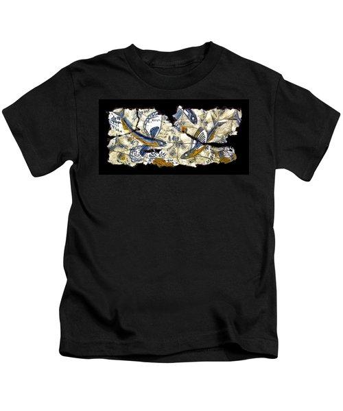 Flying Fish No. 3 Kids T-Shirt