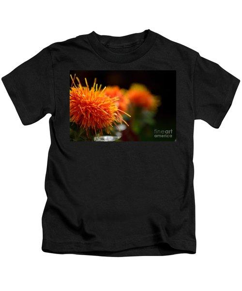 Focused Safflower Kids T-Shirt