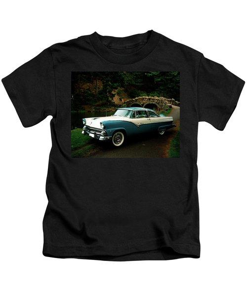 Ford Fairlane Crown Victoria V8 Circa Kids T-Shirt