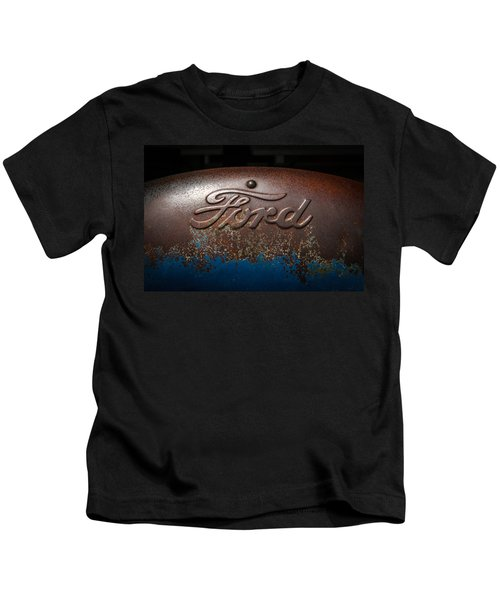 Ford Tractor Logo Kids T-Shirt