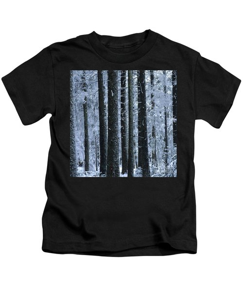 Forest In Winter Kids T-Shirt