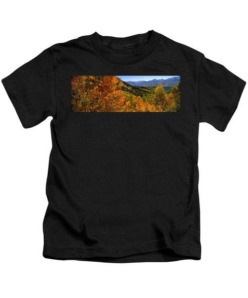Forest, Silverton, San Juan County Kids T-Shirt
