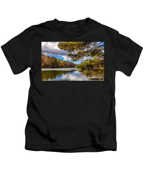 Fort Mountain State Park Kids T-Shirt