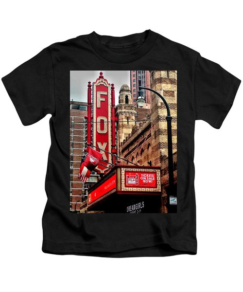 Fox Theater - Atlanta Kids T-Shirt