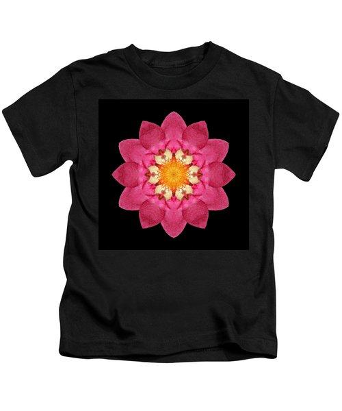 Fragaria Flower Mandala Kids T-Shirt