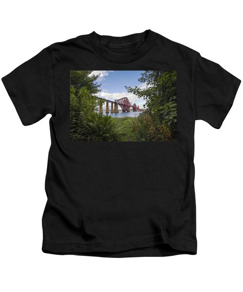 Framing The Forth Bridge Kids T-Shirt