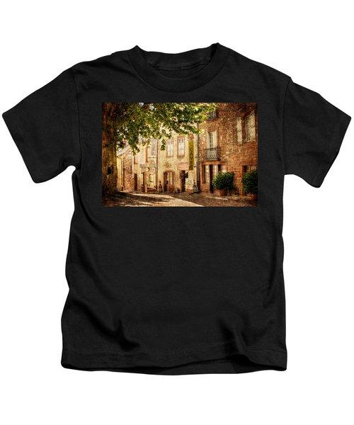 French Village Street / Meyssac Kids T-Shirt