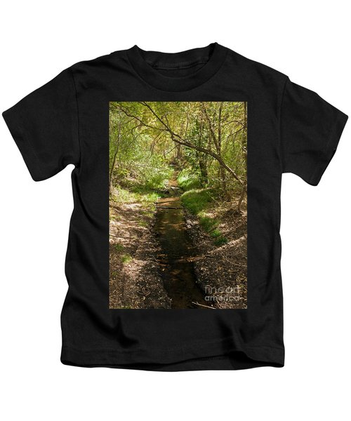 Frijole Creek Bandelier National Monument Kids T-Shirt