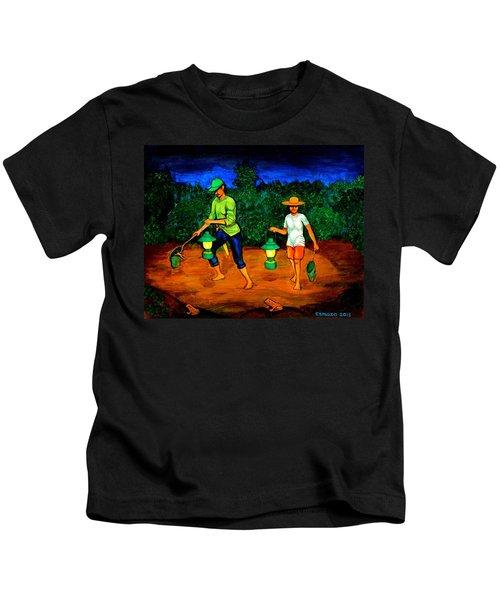 Frog Hunters Kids T-Shirt