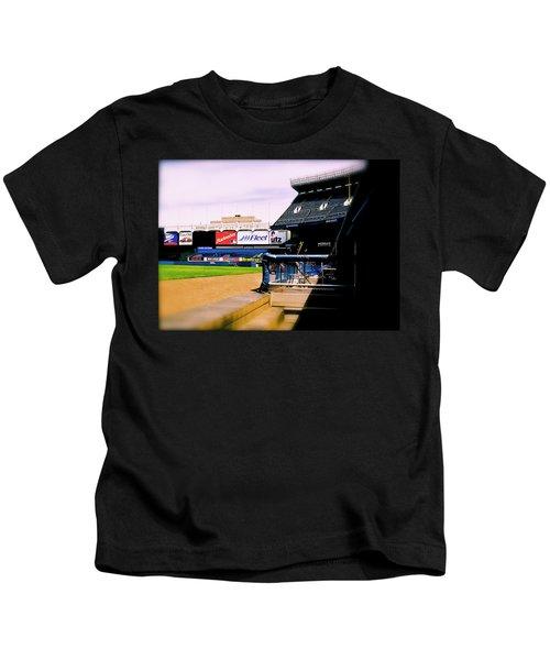 From The Dugout  The Yankee Stadium Kids T-Shirt