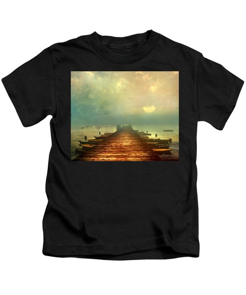 From The Moon To The Mist Kids T-Shirt