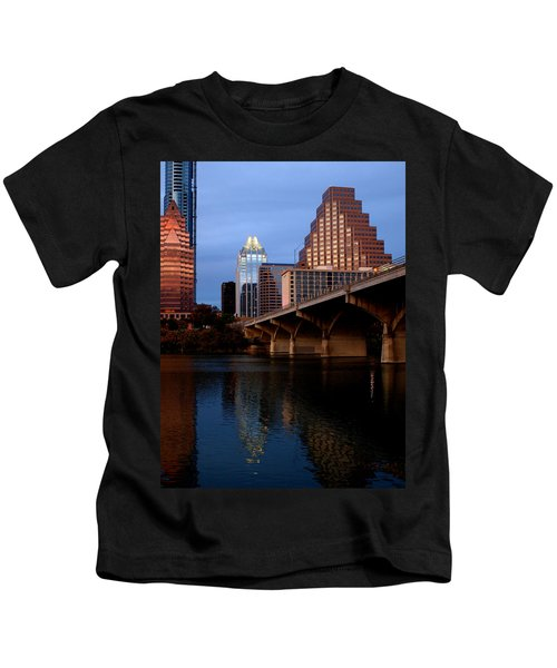 Frost Across The River Kids T-Shirt