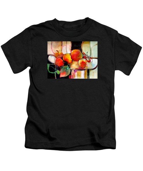 Fruit On A Dish Kids T-Shirt