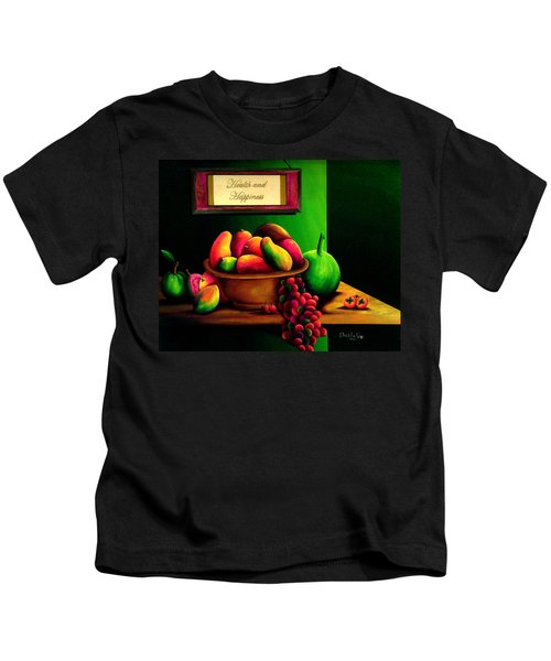 Fruits Still Life Kids T-Shirt