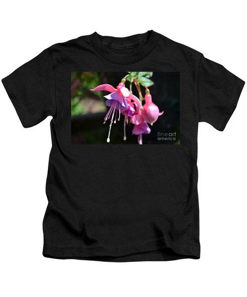 Fuchsia Flower Kids T-Shirt
