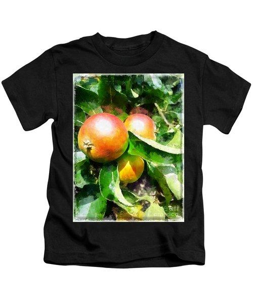 Fugly Manor Apples Kids T-Shirt