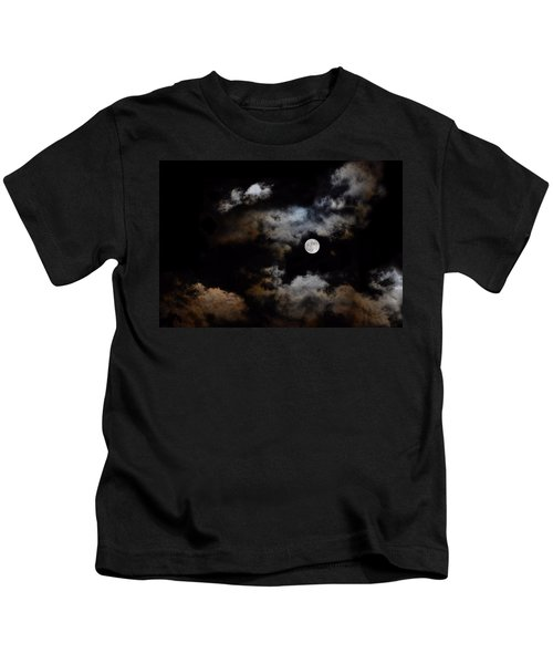 Full Moon After The Storm Kids T-Shirt