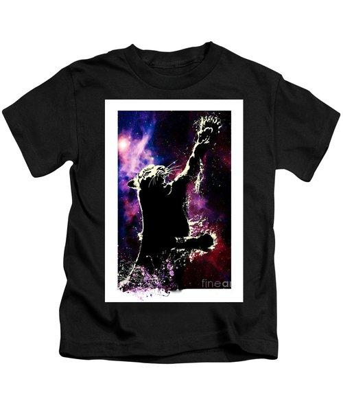 Galactic Tiger Kids T-Shirt