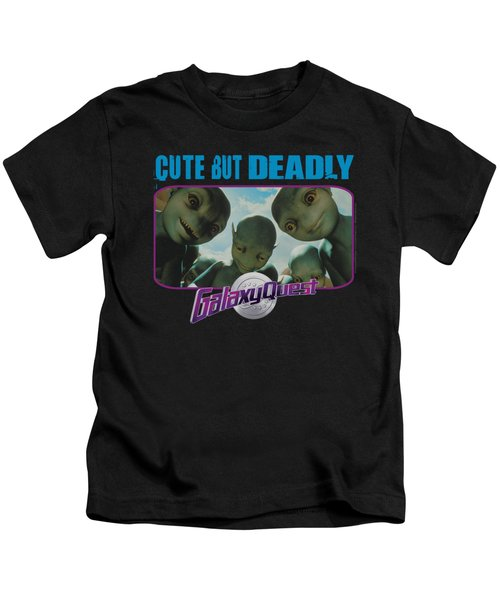 Galaxy Quest - Cute But Deadly Kids T-Shirt