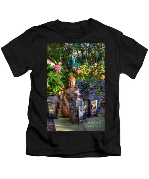 Garden Meditation Kids T-Shirt