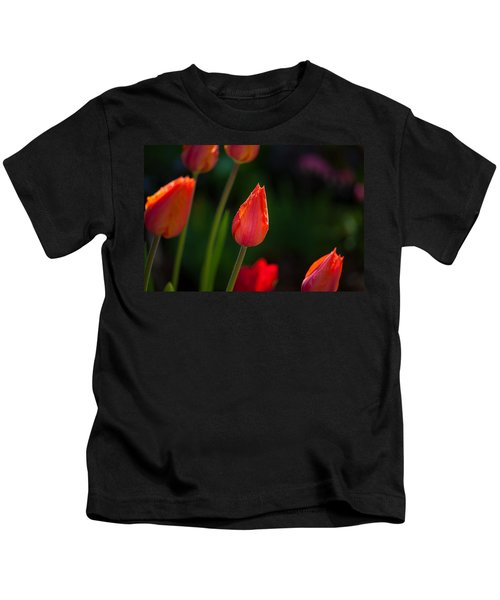 Garden Tulips Kids T-Shirt