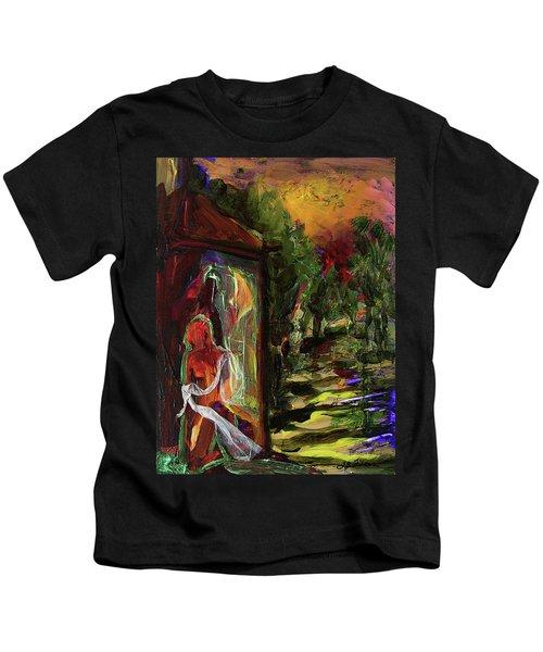 Gauguin's Polynesia  Kids T-Shirt