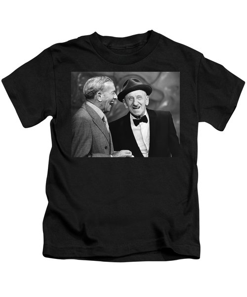 George Burns And Jimmy Durante Kids T-Shirt