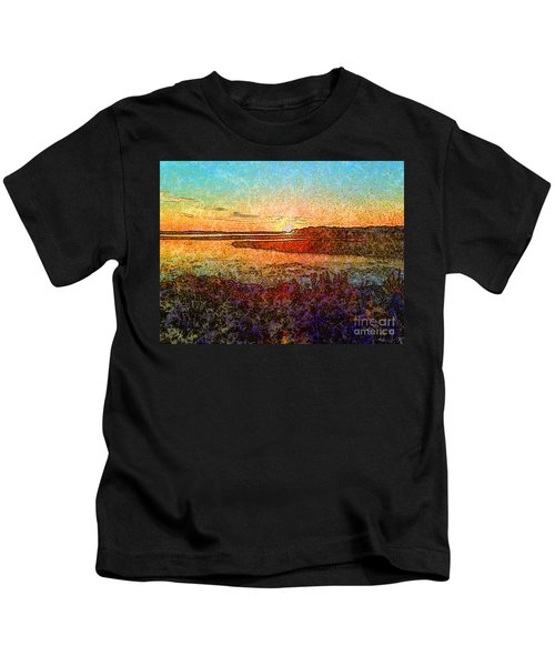 Georgian Bay Sunset Kids T-Shirt